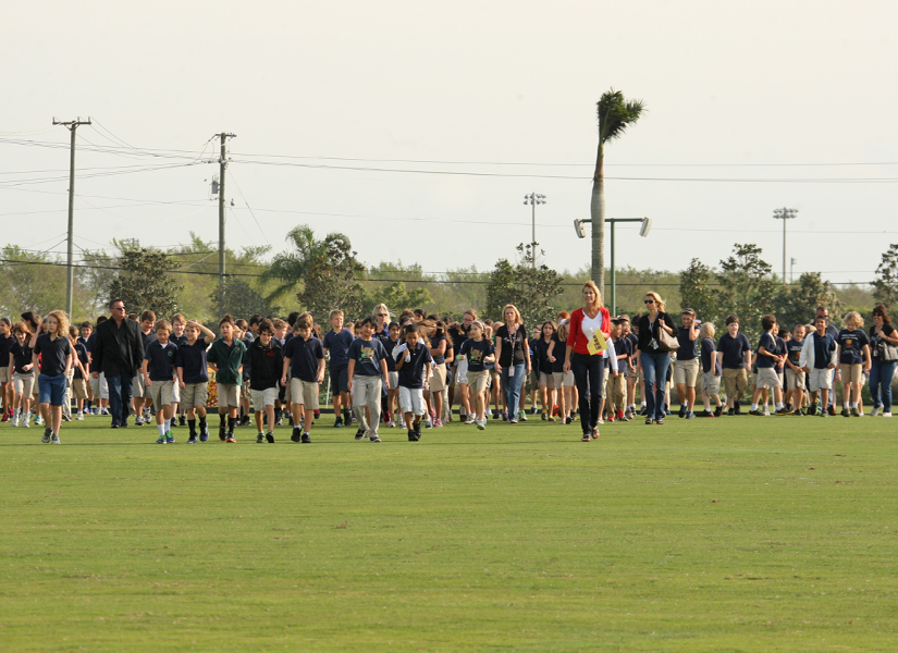 Photos of 4th Grade Polo Day at International Polo Club