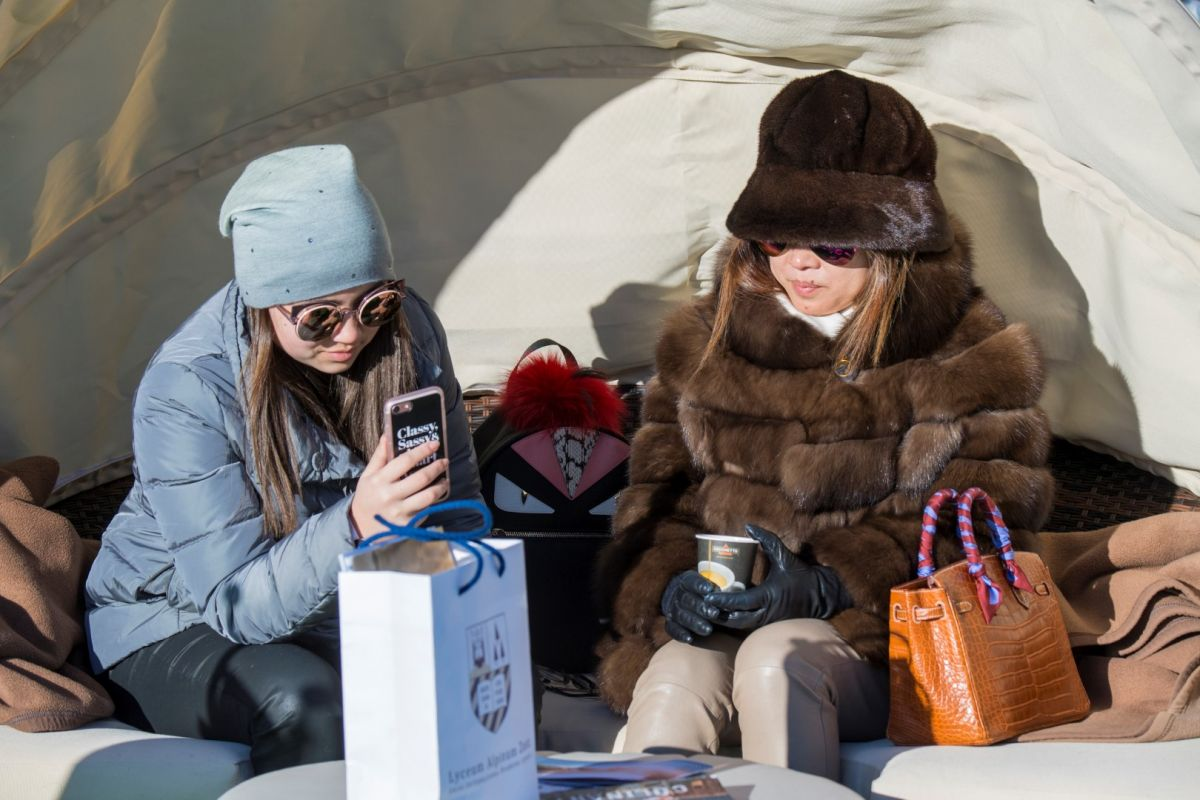 2017 Spectators and Lifestyle St Moritz Snow Polo World Cup